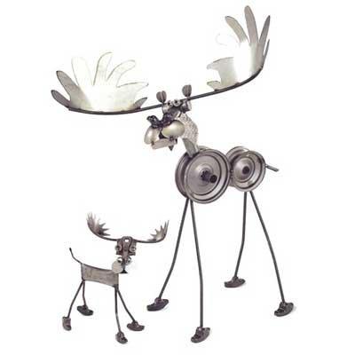 Large Moose Sculpture Yardbirds Richard (Yardbirds Moose)