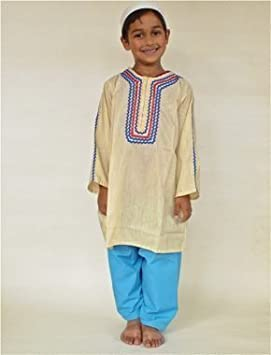 Somali African Dress up clothes for Boy-fancy dress-multicultural  resources- for different age group (6-8 years)