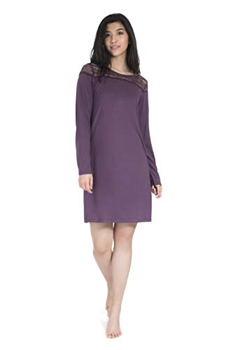 Jones New York Official Licensed Women's Sleepwear Grapeseed Nightgown (Small)