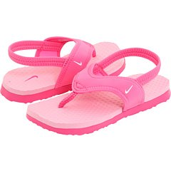 NIKE Girl's Celso (TD) Toddler Sandal Gym Pink/Perfect Pink/White Size 6 M US