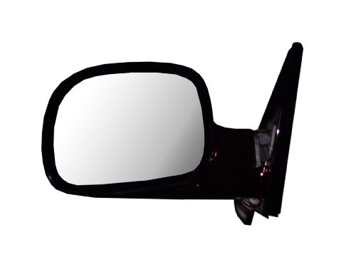 CIPA 46464 OE Replacement Electric Outside Rearview Mirror (Black) - Driver Side
