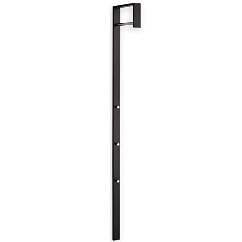 Armario con puerta-Perchero de pared 3 ganchos ZARA, color negro lacado: Amazon.es: Hogar