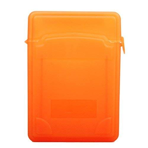 Yevison 2.5 Inch Plastic Store Tank Protective Storage Box for IDE/SATA Orange High Quality