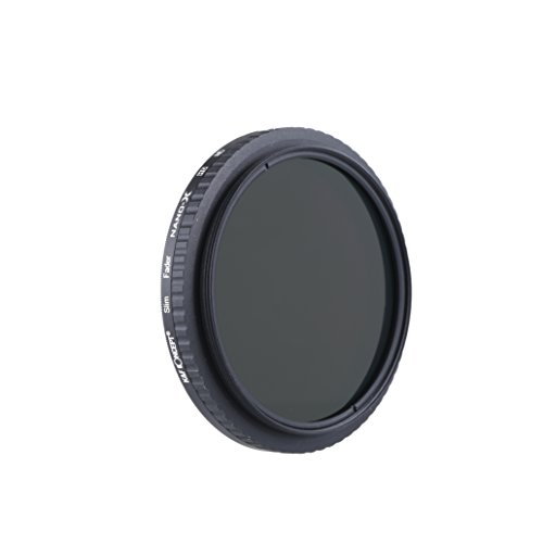 K&F Concept 52mm Fader ND Filter Neutral Density Variable Filter ND2 to ND32 for Camera lens NO