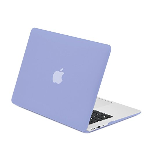 "TOP CASE - Air 13-Inch Rubberized Hard Case Cover for Macbook Air 13"" (A1369 and A1466) with TopCase Mouse Pad - Serenity Blue"