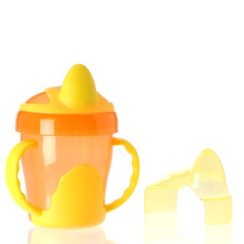 Vital Baby Two Handled Trainer Cup, Orange, 7 Ounce