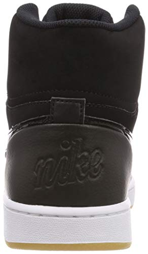 Nero Prem 001 Brown black Mid Uomo Light black Ebernon Scarpe Da white Basket Nike gum qR40wf