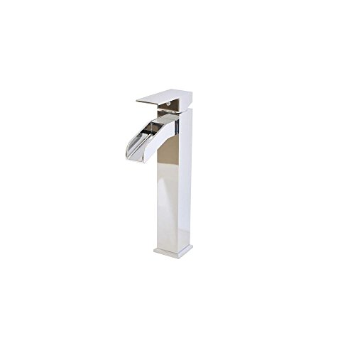 Belle Foret Single Hole - Belle Foret CP-WH81205 Single Hole 1-Handle High-Arc Bathroom Faucet in Chrome