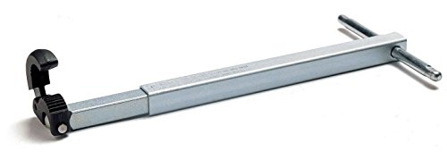 Plumber's Under Sink Basin Wrench 10-Inch to 17-Inch Telescoping Handle with Pipe Capacity of 1-1/4-Inch to 2-1/2-Inch by HowPlumb