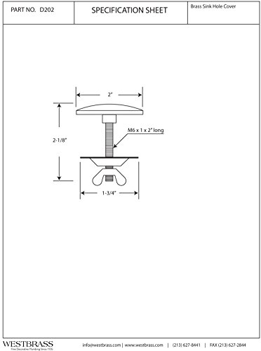 Faucet hole plug