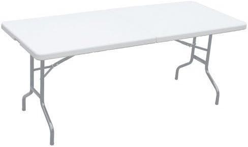 Papillon 8043805 - Mesa plegable rectangular 180x75x74 cm: Amazon ...