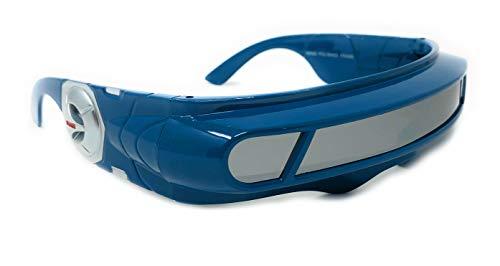 ea992ebd71c WebDeals - Futuristic Cyclops Wrap Around Monoblock Shield Sunglasses