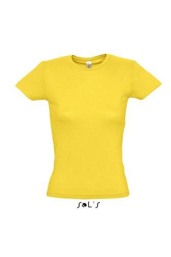 SOL'S - Camiseta - para mujer Amarillo - Oro
