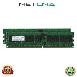 73P2865 1GB (2x512MB) IBM Compatible Memory eServer xSeries PC2-3200 DDR2-400 240-Pin Chipkill ECC SDRAM DIMM Memory Kit 100% Compatible memory by NETCNA ()