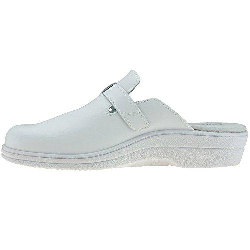 Calzados Romero Damen Clogs & Pantoletten Weiß