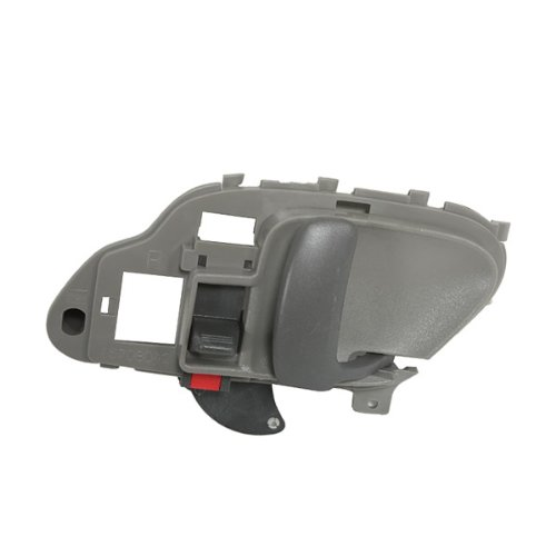 CarPartsDepot, Interior Inside Front Door Handle Gray Textured Right (Passenger Side) Assembly, 382-15157-12 GM1353101 15708044?? (K2500 Door Suburban Front Handle)