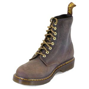 Dr. Martens 1460 8 Eye Boot BROWN 11822212 - Botas de cuero unisex Marrón - marrón