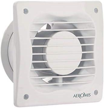 Aeromis 100mm Estándar Ventilador extractor de baño aire Alta ...