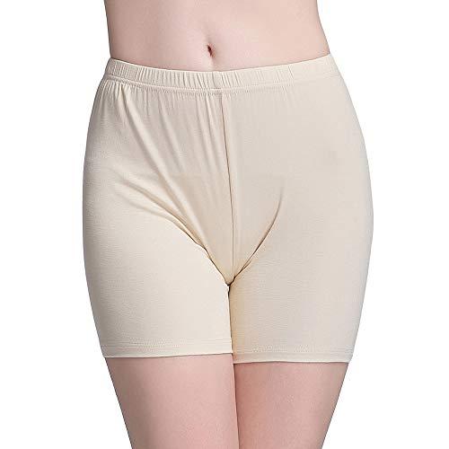 Vinconie Safety Pants Stretchy Slim Underwear Shorts Capri Leggings Underpants ()
