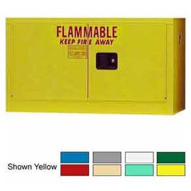 18-Gallon Manual Close, Stackable Flammable Cabinet Md ()
