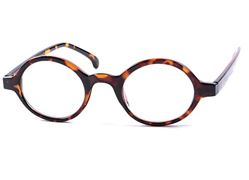 de15143e5d Designer Style Round Frame Reading Glasses Mens Womens Retro Classic  Various Colours   Strengths + I-Sential Case   Cloth