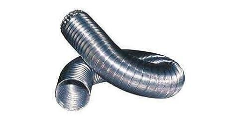 Tubo Corrugato Canne Fumarie Estensibile Flessibile Alluminio - 160 UTIL.FER