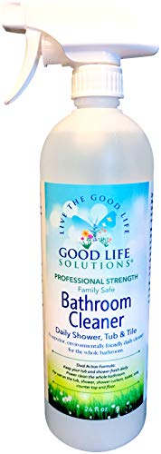 Daily Shower Tub & Tile Cleaner - Eco Friendly, Professional-Strength, Non-Abrasive, Acid-Free, Fragrance Free Formula Cleans Soap Scum, Dirt Buildup, Hard Water Stains And Rust From Any Hard Surface.