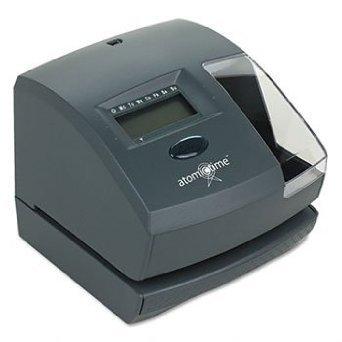 Lathem Time 1500E Atomic Time Recorder, Charcoal, EA - LTH1500E