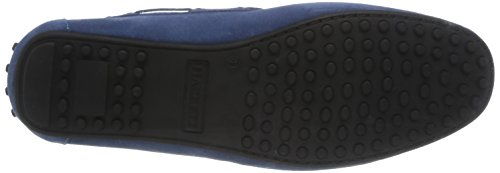 Hackett London Moccasins Bow - Mocasines para hombre, color Azul eléctrico Azul eléctrico