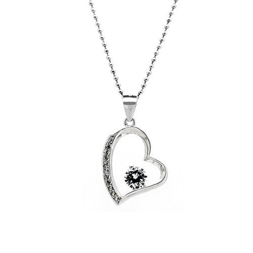Rhodium Plated Sterling Silver You Are Special' Heart Pendant Necklace,18 (Jane Seymore Open Heart Necklace compare prices)