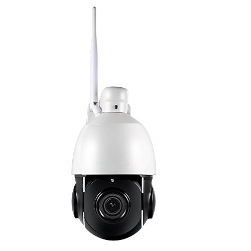 Zoom Mpeg4 Network Camera - Wireless PTZ Dome Camera, 960P /1080P 5X Zoom IP Camera WiFi Outdoor Security Camera Auto IR-Cut IP66 Waterproof Onvif H .264,MPEG4 1.3 Megapixel P2P Night Vision 60m for Shopping Mall,Garage,Wareho