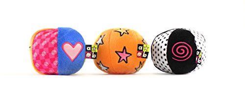 Amazing Baby Chime, Jingle, Crinkle Sound Balls, 4
