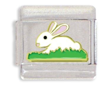 Rabbit Italian Charm Bracelet Link ()