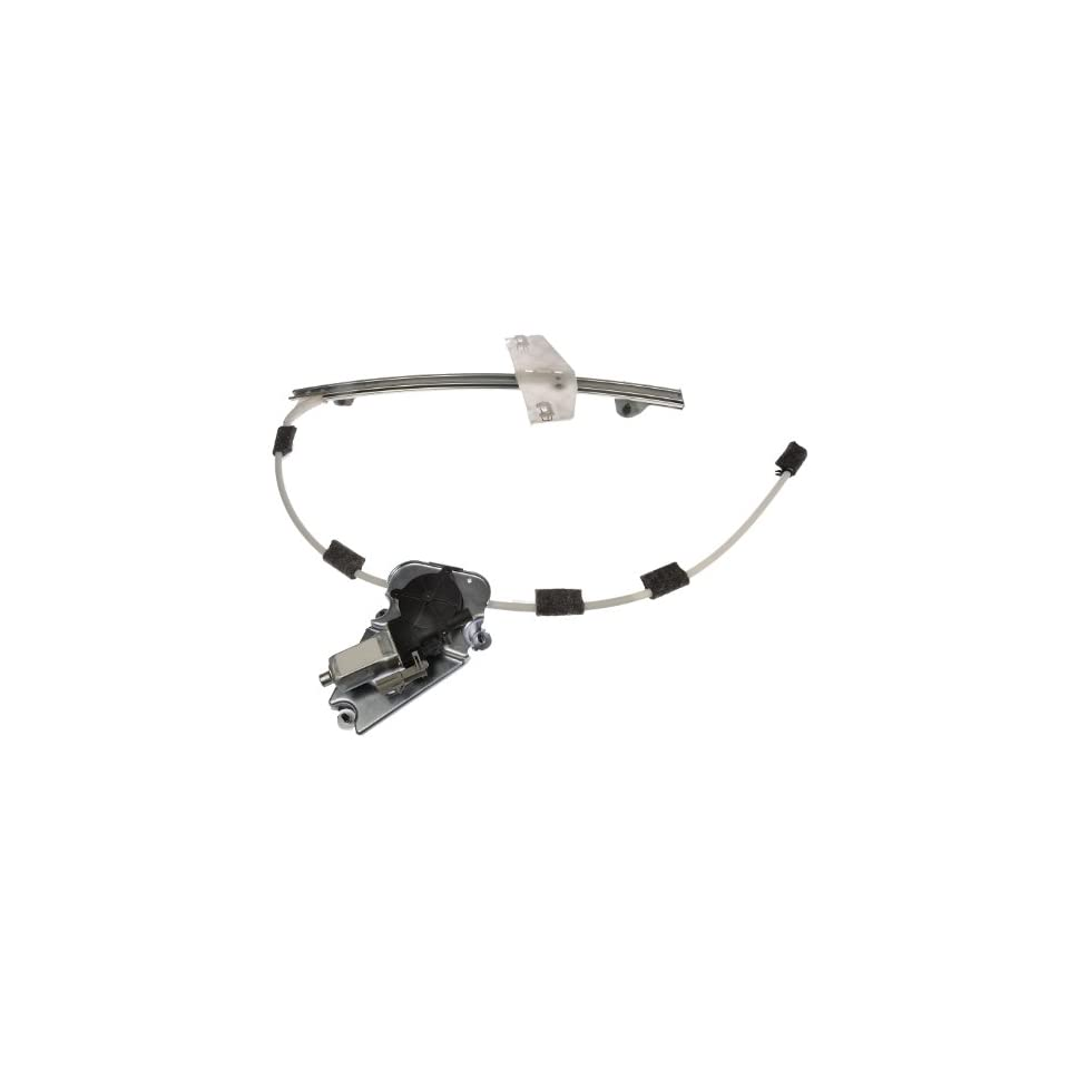 Dorman 741 526 Front Driver Side Replacement Power Window Regulator with Motor for Jeep Liberty