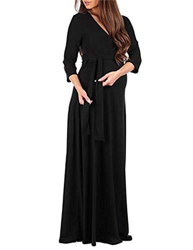 HMei Maternity Dress Women
