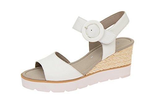 Gabor - Sandalias de vestir de Piel para mujer Weiß