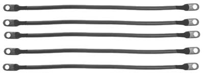 Club Car DS 95+ (48 Volt) Golf Cart - Battery Cable Set (4 Gauge)