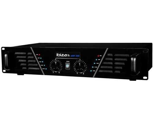 Amplificateur sono 2 x 240 W Max AMP-300-S Ibiza sound