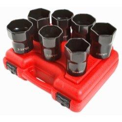 - Sunex SUN2847 Wheel Bearing Lock nut Socket Set - 7 Piece
