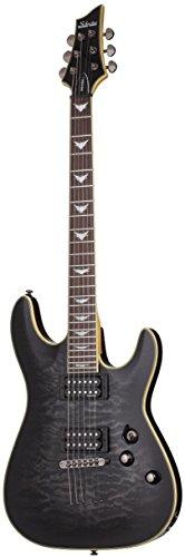 Schecter Omen Extreme-6 Electric Guitar (See-Thru Black)