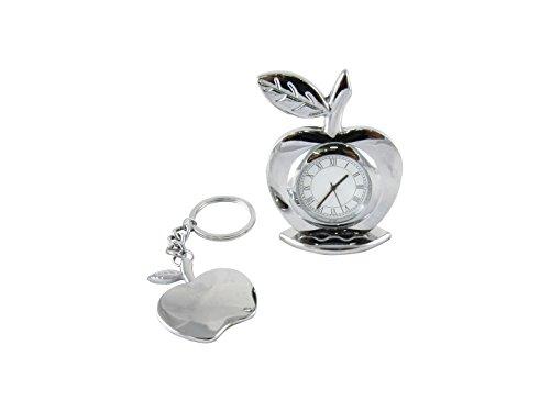 Apple Shaped Keychain - 6