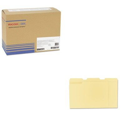 KITRIC407019UNV12113 - Value Kit - Ricoh 406663 Photoconductor Unit (RIC407019) and Universal File Folders (UNV12113)