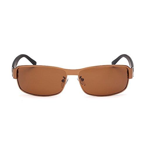 Manera Gafas de Sol Conductor Color Sol de Sol del Gafas Polarizador Sol Hombres la de E Gafas revestidas de A de los Gafas de Hc4FcPW