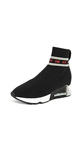 Dameswomens Link Sneakers Zwart / Grijs