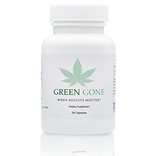 Green Gone 2 Day Emergency THC (Marijuana) Detox Kit - Permanent Cleanse, with 5 Free THC Test Strips!