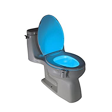 NightGlow - Motion Activated Toilet Nightlight with 8 Colors by American Pumpkins