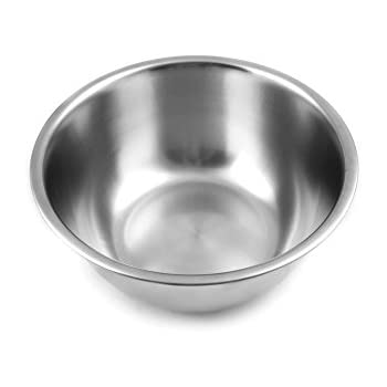 Fox Run Stainless Steel Mixing Bowl, 6 Quarts