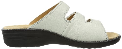 Ganter Hera Weite H 7-205807-04000 - Zuecos de cuero para mujer, color blanco, talla 36 Blanco (Weiß (offwhite 0400))