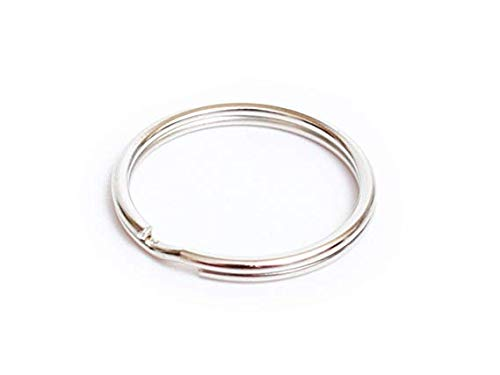 Key Nickel Plated Ring (Prudance 200Pcs 1
