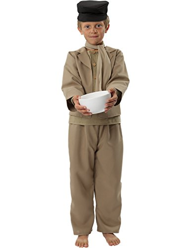 Oliver Twist Costume Boys Victorian Film Fancy Dress World Book Day